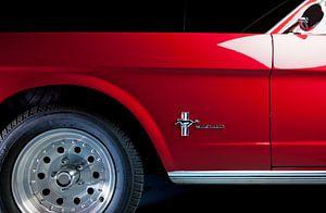 Zij aanzicht Ford Mustang 1964