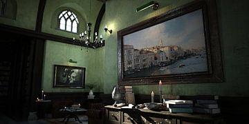 kamer met kunst_HMS van H.m. Soetens
