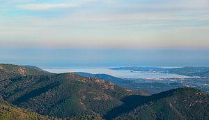 Zicht op de Baai van St Tropez