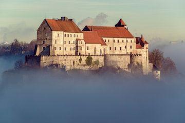 Burghausen an der Salzach von altmodern