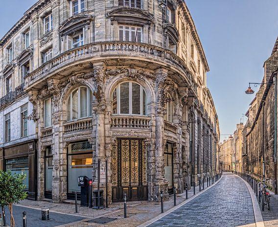 Gevels van Rue Teulère - Rue Saint James, Bordeaux van André Scherpenberg