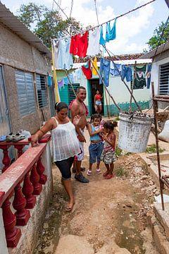 Une famille cubaine fière
