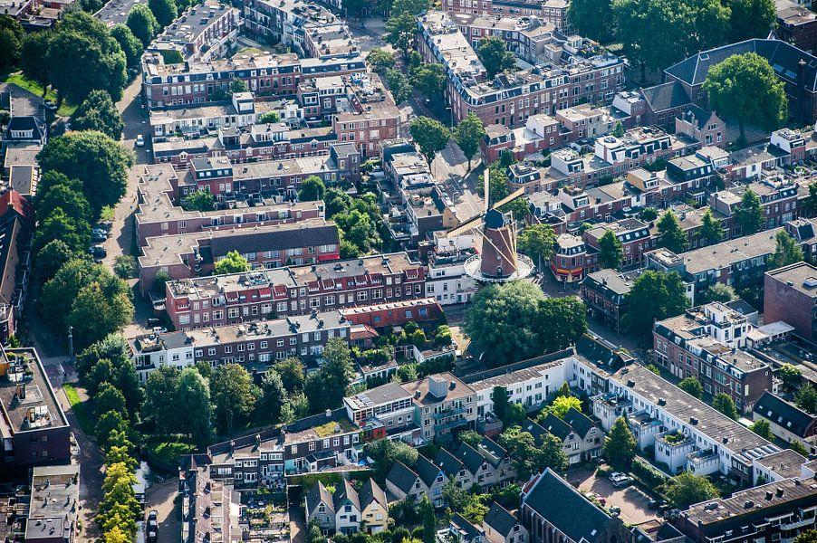 Molen aan de Adelaarstraat in Utrecht