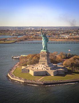 Vrijheidsbeeld, New York van Maarten Egas Reparaz
