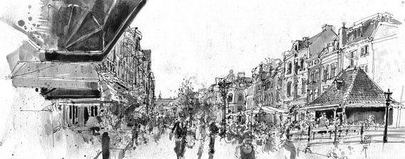 Vismarkt, Utrecht  van Christiaan T. Afman