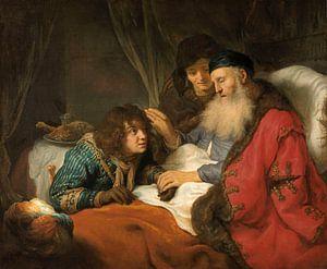 Isaac Blessing Jacob, Govert Flinck