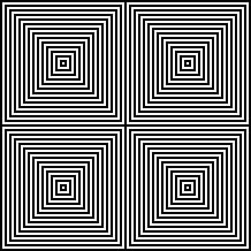 Genesteld in het centrum 02x02 N=14 W van Gerhard Haberern