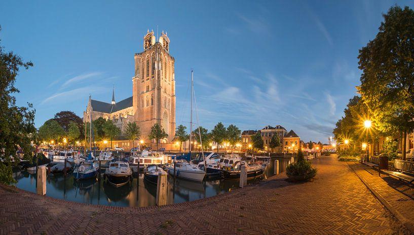 Panorama Maartensgat Dordrecht van Jan Koppelaar
