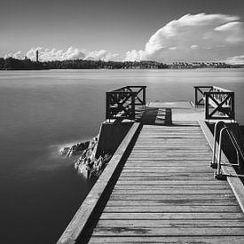 Jetée en Suède sur Henk Meijer Photography