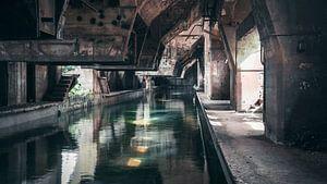 Verlaten Plekken: staal fabriek