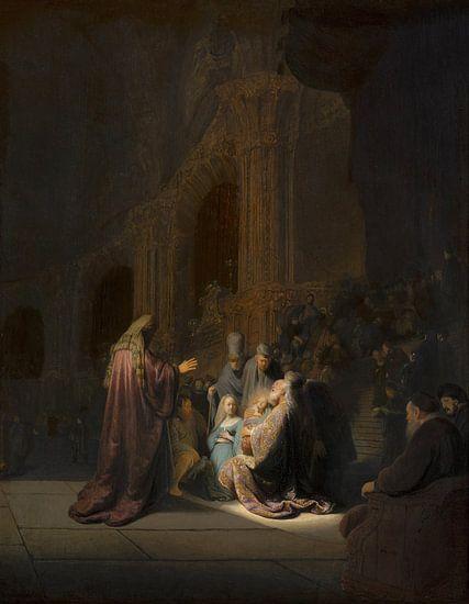 Rembrandt van Rijn, Het loflied van Simeon van Meesterlijcke Meesters