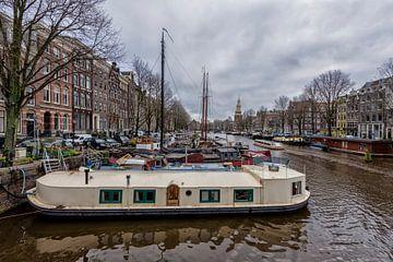 De Waalseilandgracht in Amsterdam. von Don Fonzarelli