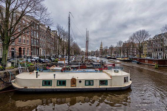 De Waalseilandgracht in Amsterdam. van Don Fonzarelli