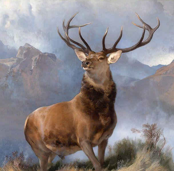 The Monarch of the Glen, Edwin Landseer van Meesterlijcke Meesters