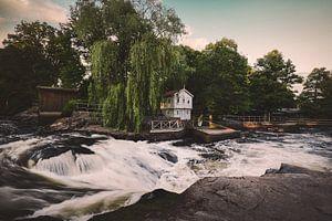 Mörrum - Flussblick in Schweden
