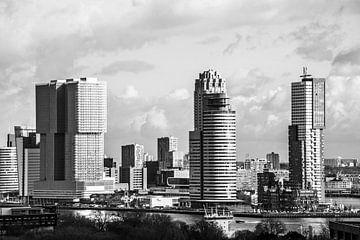 Skyscrapers Rotterdam van Ton de Koning