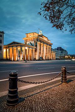 Brandenburger Tor Berlin van Munich Art Prints