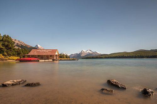 Malige lake Canada van