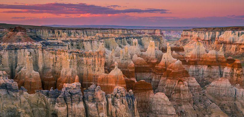 Coal Mine Canyon, Arizona, USA van Henk Meijer Photography