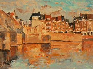 Indian Summer licht Wyck, Maastricht
