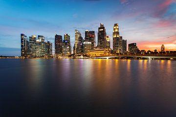 Singapore Skyline sur