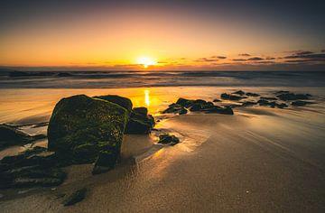 Die ersten Sonnenstrahlen in Fuerteventura von Christian Klös