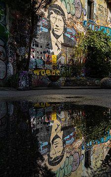 Graffiti Metelkova - Ljubljana (Slowenien) von Marcel Kerdijk