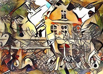 Kandinsky rencontre Warnemünde 2 sur zam art