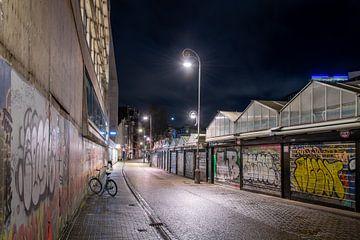 Avondklok in Amsterdam - Bloemenmarkt