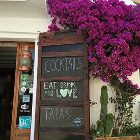 Eat Drink and Love Ibiza van Picture Jo