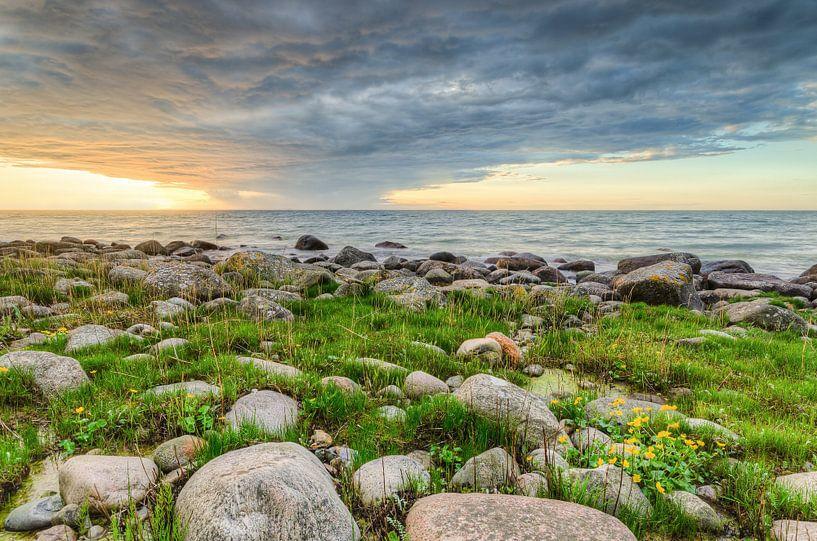 Sonnenuntergang auf Rügen von Michael Valjak