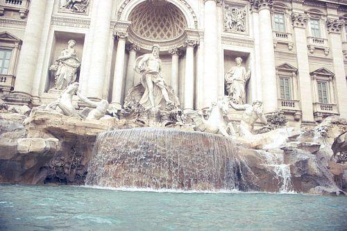 Fontana di Trevi in Rom van