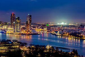 Skyline Rotterdam - de Kuip  van