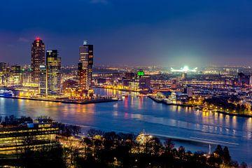 Skyline Rotterdam - de Kuip  sur