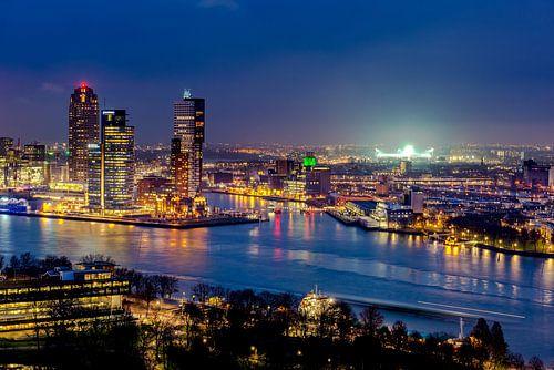 Skyline Rotterdam - de Kuip  van Marco Schep