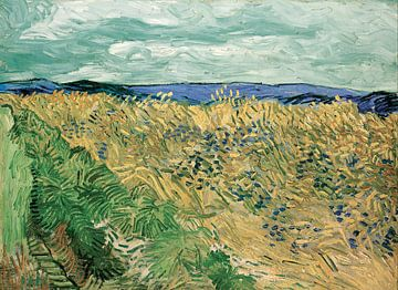 Kornfeld, Vincent van Gogh von 1000 Schilderijen