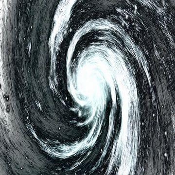 Galaktisches Chaos II von Maurice Dawson