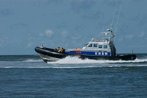 KNRM in actie op de Waddenzee.