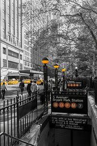 42 th Street  und Subway Station Braynt Park