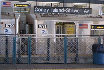 Coney Island New York van Victor de Reuver