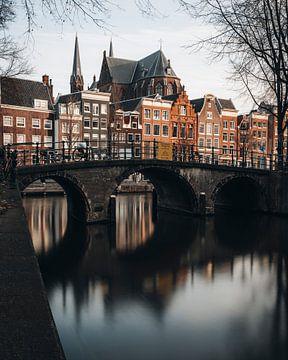Amsterdam Leidsegracht mit Herengracht von Lorena Cirstea