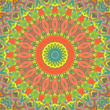 Mandala-stijl 71 van Marion Tenbergen