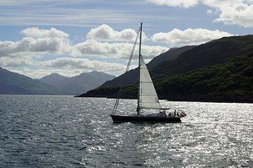 Overtocht van Armadale naar Mallaig in Schotland - Oceaan en Kust. van Babetts Bildergalerie