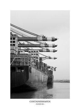 Hamburger Hafen Containerschiff von Der HanseArt