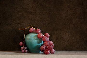 Stilleven met druiven van Corinne Welp