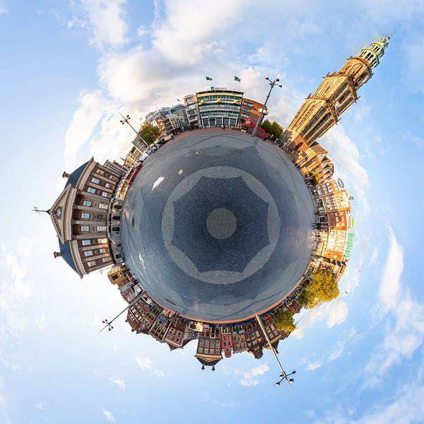 Planet Groningen (Grote Markt) von Frenk Volt