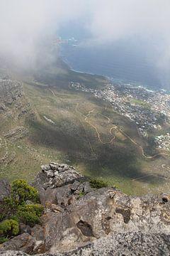 Uitzicht Tafelberg van Quinta Dijk