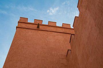 Zinnen an der Burgmauer