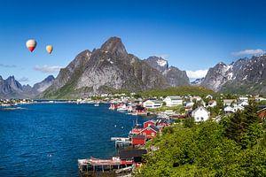 Reine Lofoten in Noorwegen van