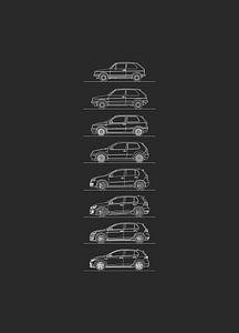 Volkswagen Golf GTI Evolution von Artlines Design